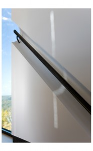 Burr McCallum Architects / Hand Rail Top of Stairs w window