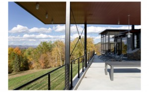 Burr McCallum Architects / NE Porch View