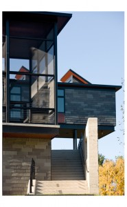 Burr McCallum Architects / Eastern Elevation stairs