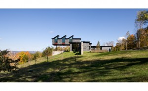 Burr McCallum Architects / West Elevation